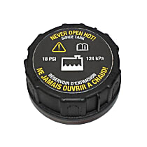 RC107 Coolant Reservoir Cap - Direct Fit, Sold individually