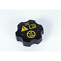 AC Delco Radiator Cap - RC115 - Round, 20 lbs., Black, Plastic, Sold individually