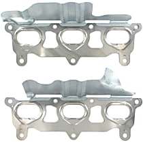 APEX AMS11642 Exhaust Manifold Gasket - Direct Fit, Set of 2