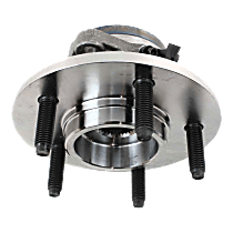 Wheel Hub and Bearing - Front, Driver or Passenger Side, 1 Pc