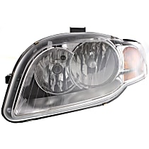 Driver Side Halogen Headlight, With bulb(s) - B7 Body Code