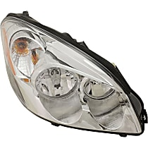 CAPA Certified Passenger Side Halogen Headlight, With bulb(s)