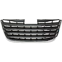 Grille Assembly - Chrome Shell with Painted Dark Gray Insert