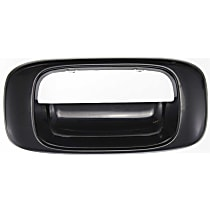 Tailgate Handle Bezel - Smooth Black, All Cab Types