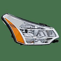 Coupe(08-08)/Sedan(08-11), Passenger Side Headlight, With bulb(s) - Except SES Model