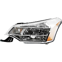Coupe(08-08)/Sedan(08-11), Driver Side Headlight, With bulb(s) - Except SES Model