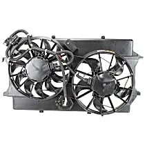 OE Replacement Radiator Fan - Fits 2.0L/2.3L DOHC Engine, w/ A/C