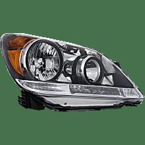 CAPA Certified Passenger Side Halogen Headlight, With bulb(s)