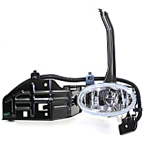 Fog Light Assembly - Driver Side, Sedan, Factory Installed