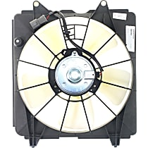 OE Replacement Radiator Fan - Fits 1.8L, Sedan/Coupe, w/ Auto Trans., Driver Side