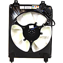 OE Replacement A/C Condenser Fan - Fits 1.8L, Sedan/Coupe, Passenger Side
