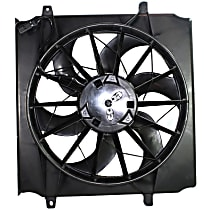 OE Replacement Radiator Fan - Fits 2.4L/3.7L, Cooling Module, w/o Heavy Duty Cooling 3-Pin Connector