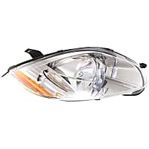 Passenger Side Headlight, With bulb(s) - (Convertible To 01-07-07)/(Coupe/HB To 1-1-07)