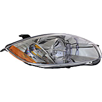 Passenger Side Headlight, With bulb(s) - (Convertible To 01-07-07)/(Coupe/HB To 1-1-07), CAPA CERTIFIED