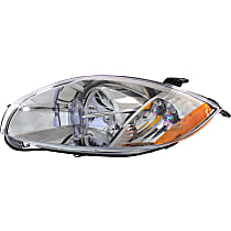 Driver Side Headlight, With bulb(s) - (Convertible To 01-07-07)/(Coupe/HB To 1-1-07), CAPA CERTIFIED