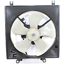 OE Replacement Radiator Fan - Fits 1.8L w/ Auto Trans., Driver Side