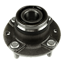 Front Wheel Hub Bearing Assembly Driver or Passenger side For RWD Models with Non-ABS