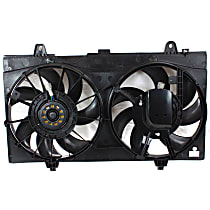 OE Replacement Radiator Fan - Fits 2.0L/2.5L SR and SE-R Models