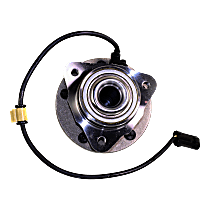 Front, Driver or Passenger Side Wheel Hub and Bearing Assembly, For 2WD or RWD