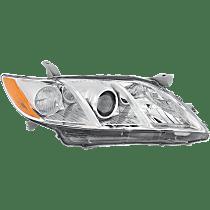 Passenger Side Headlight, Without bulb(s) - (Base/CE/LE/XLE Model), USA Built