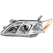 Driver Side Headlight, Without bulb(s) - 07-09 Camry (Base/CE/LE/XLE Model), USA Built