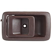 Interior Door Handle, Brown Front or Rear, Driver Side