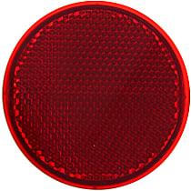Rear, Driver Or Passenger Side Bumper Reflector