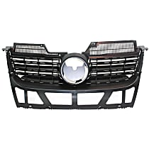 Grille Assembly - Matte Black Shell and Insert