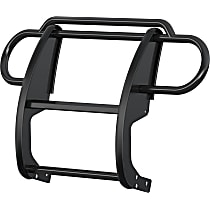 1053 One-piece Series Steel Grille Guard, Powdercoated Black