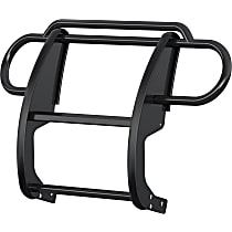 Aries One-piece Steel Grille Guard, Powdercoated Black