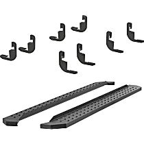 Aries RidgeStep Commercial Running Boards - Powdercoated Textured Black, Set of 2