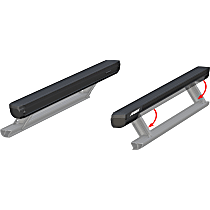 Aries ActionTrac Running Boards - Powdercoated Textured Black, Set of 2