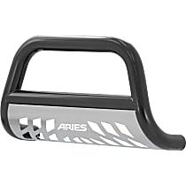 Aries 3 in. Bull Bar, Powdercoated Black