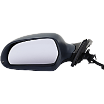 Mirror Manual Folding Heated - Driver Side, Power Glass, In-housing Signal Light, Paintable