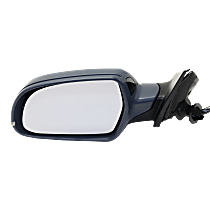 Mirror - Driver Side, Power, Heated, Power Folding, Paintable, With Turn Signal, Memory, Blind Spot Function