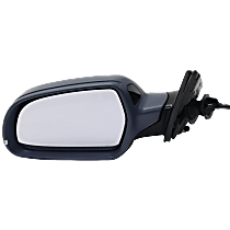 Mirror - Driver Side, Power, Heated, Power Folding, Paintable, With Turn Signal, Blind Spot Function