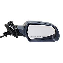 Mirror - Passenger Side, Power, Heated, Power Folding, Paintable, With Turn Signal, Blind Spot Function