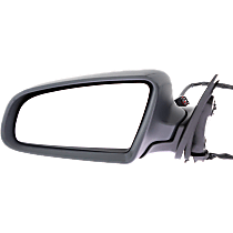 Mirror Manual Folding - Driver Side, Light textured