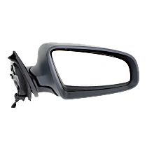 Mirror Manual Folding - Passenger Side, Light textured