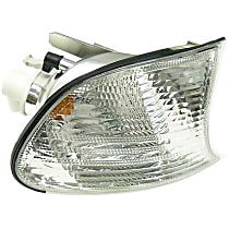 LLC381 Turn Signal Light with White Lens - Replaces OE Number 63-12-6-904-308