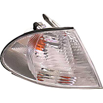 LLC851 Turn Signal Light with White Lens - Replaces OE Number 63-13-6-902-770