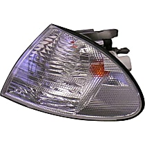 LLC852 Turn Signal Light with White Lens - Replaces OE Number 63-13-6-902-769