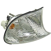 Automotive Lighting LLD631 Turn Signal Light with White Lens - Replaces OE Number 63-13-7-165-858