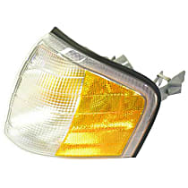 LLD661 Turn Signal Assembly Headlight (Half Amber / Half Clear) - Replaces OE Number 202-826-11-43