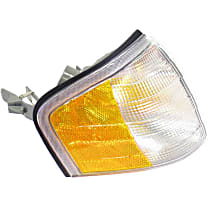 LLD662 Turn Signal Assembly Headlight (Half Amber / Half Clear) - Replaces OE Number 202-826-12-43
