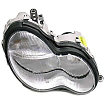 Automotive Lighting LUS4071 Headlight Assembly (Halogen) - Replaces OE Number 203-820-10-61
