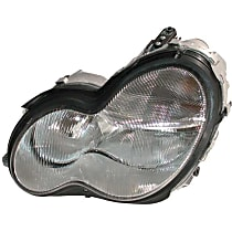 LUS4072 Headlight Assembly (Halogen) - Replaces OE Number 203-820-09-61