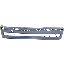 Front Bumper Cover, Primed - w/ Molding Holes, w/o Washer Holes