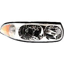 Passenger Side Headlight, With bulb(s) - Limited Model, With Fluted High Beam Surface