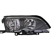 Sedan/Wagon, Passenger Side Halogen Headlight, With bulb(s)